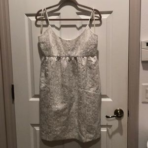 Cute cocktail Dress in silver